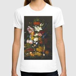 Victorian Bouquet by Severin Roesen T-shirt