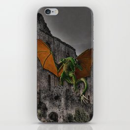 Dragon & Castle Artwork iPhone Skin