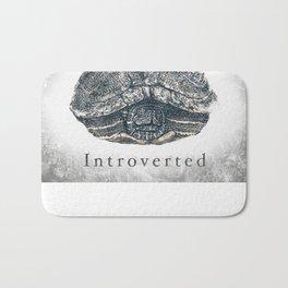 Introverted Bath Mat