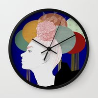 nordic Wall Clocks featuring NORDIC ART by J. Holmgren Design