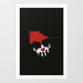 I'm on a Murder Break Art Print