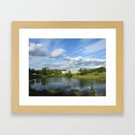 Maryville Greenbelt Framed Art Print