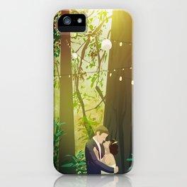 Redwoods Wedding iPhone Case