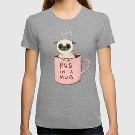 Pug in a Mug T-shirt