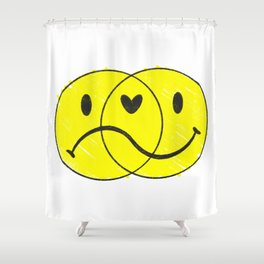 For Better or Worse Shower Curtain