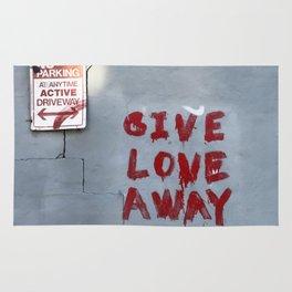 Give Love Away Rug