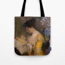 "Odilon Redon ""Madame Arthur Fontaine (Marie Escudier)"" Tote Bag"