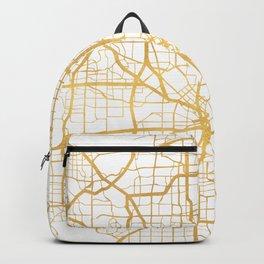 DALLAS TEXAS CITY STREET MAP ART Backpack