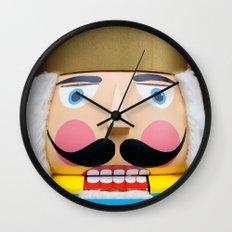 nutcracker king Wall Clock