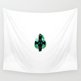 Spacship Wall Tapestry