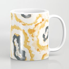 Honey Agate Abstact Panted Pattern Coffee Mug