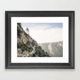 Guadalupe Mountains National Park, Texas. Framed Art Print