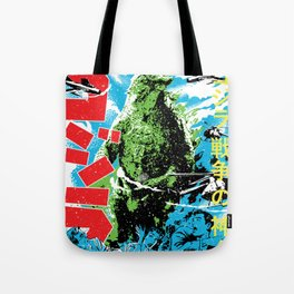 GodZilla War Tote Bag