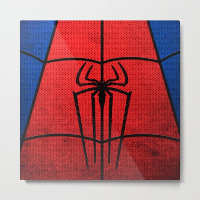 spider man logo Metal Print