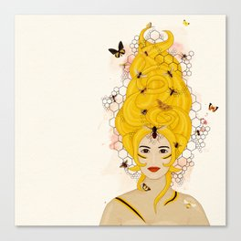 The Queen Bee Canvas Print