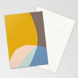 Organic Overlap Stationery Cards