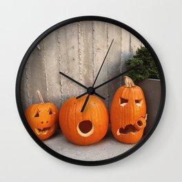 halloween friends Wall Clock