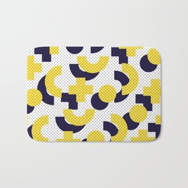 Pattern in 90 80 style Bath Mat