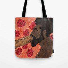 Noir Oral Tote Bag