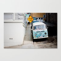 hippie Canvas Prints featuring Hippie by Lindsey Yeo