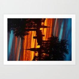 Sunrise in the East Art Print