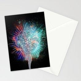 Flower Of Life Rainb-urst Stationery Cards