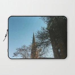 Wesleyan Memorial Chapel Sky Laptop Sleeve