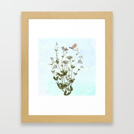 An invincible summer Framed Art Print