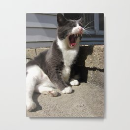 The Mighty Roar of Morty Metal Print