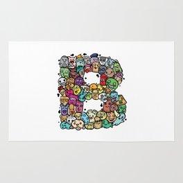 Alphabet B. The alphabet series Rug