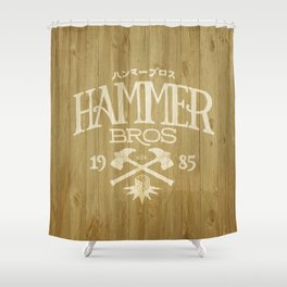 HAMMER BROTHERS Shower Curtain