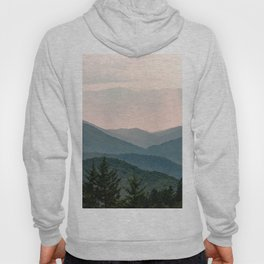 Smoky Mountain Pastel Sunset Hoodie