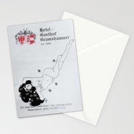 Meet Me at the Gasthof Gramshammer Stationery Cards