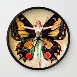 Frank Xavier Leyendecker The Flapper Wall Clock