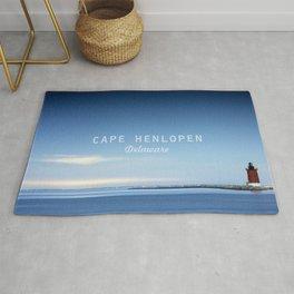 Cape Henlopen - Delaware Beaches.  Rug