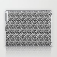 Pencil Sketched Circles Laptop & iPad Skin