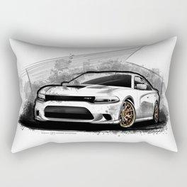 Charger SRt Hellcat Rectangular Pillow