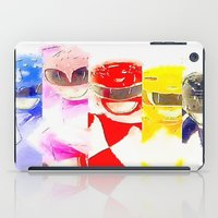 power rangers iPad Cases featuring Power Rangers by americanmikey