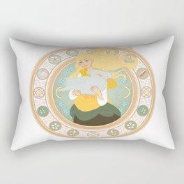 Goose Girl Rectangular Pillow