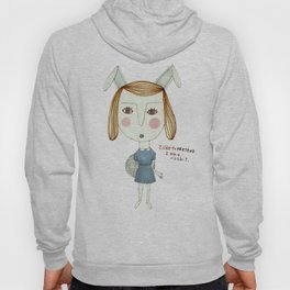 The Great Rabbit Pretender. Hoody