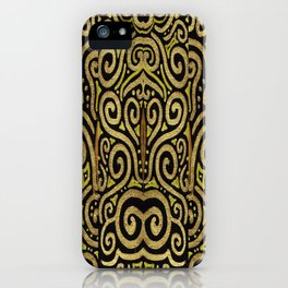 Golden Manipura iPhone Case
