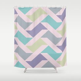 Wall Worx #1 - Spring Fling - Large Shower Curtain