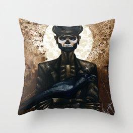 Shadow Man 2 Throw Pillow