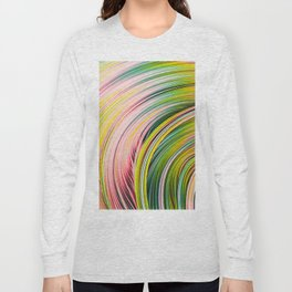 Colorful Strands. Abstract Art Long Sleeve T-shirt