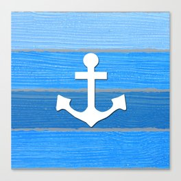 Nautical themed design Canvas Print