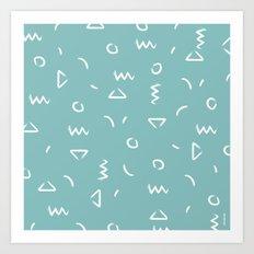 pinsel Art Print