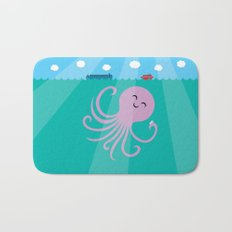Octopus Selfie Bath Mat