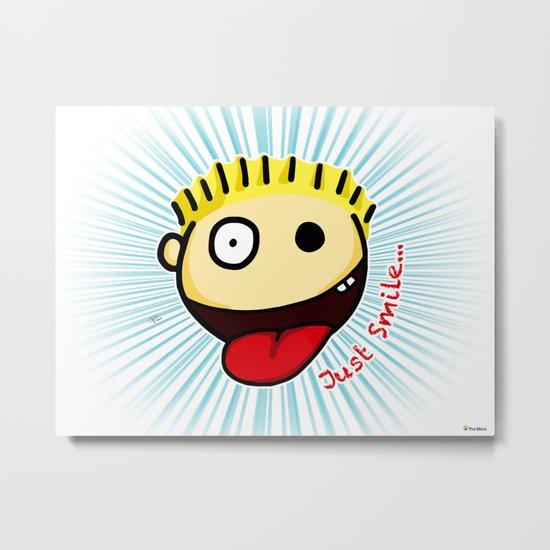 The Sbirù - Just Smile... Metal Print