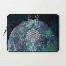 Lunar Goddess Mandala Laptop Sleeve