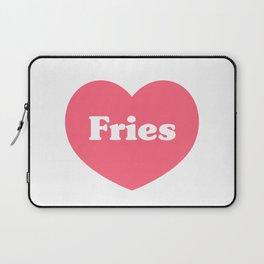 Heart Fries Laptop Sleeve
